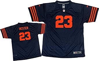Nike NFL Youth Chicago Bears DEVIN HESTER 23 Game Jersey Navy