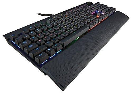 Corsair Gaming K70 RGB Mechanical Keyboard, Backlit RGB LED, Cherry MX Red