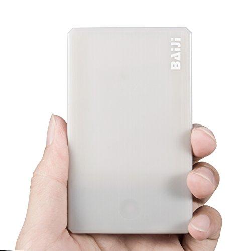 Mini Power Portable Cellphone Charger - Compact 2500mAh 1-Port Ultra Slim Power...