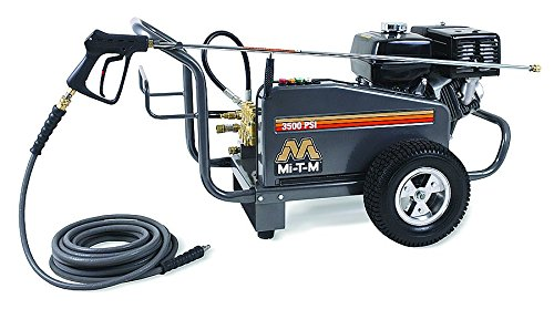 3500 psi 3.7 gpm Cold Water Gas Pressure Washer by MI-T-M