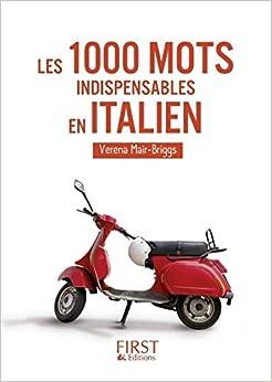 Descarga gratuita Les 1000 Mots Indispensables En Italien PDF