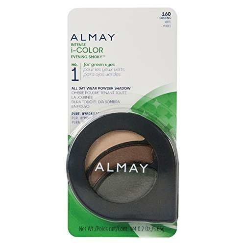 Almay Intense I-Color Evening Smoky Eye Shadow, Green/160, 0.2 Ounce by Almay