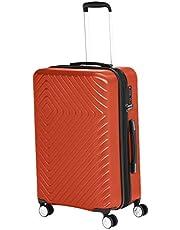 Amazon Basics - Maleta giratoria, expandible, con ruedas y candado TSA incorporado