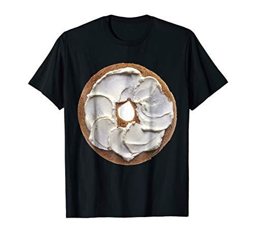 Bagel & Cream Cheese Breakfast Brunch Food Costume T-Shirt