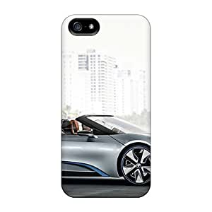 Tpu Case Cover For Iphone 5/5s Strong Protect Case - Cars Bmw I8 Concept Design