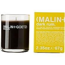 M (1) MALIN and GOETZ Dark Rum Votive Candle 2.35oz