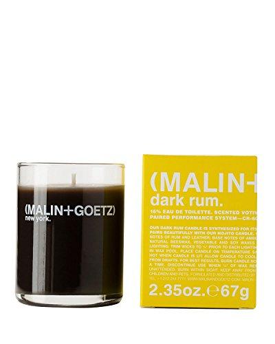 Dark Rum Candle - M (1) MALIN and GOETZ Dark Rum Votive Candle 2.35oz
