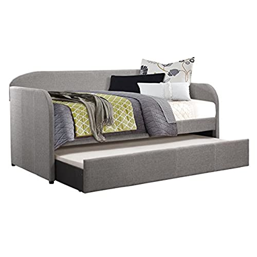 daybed with trundle. Delighful With Homelegance Modern Design Daybed With Trundle Fully Upholstered Polyester  Twin Grey Intended With E