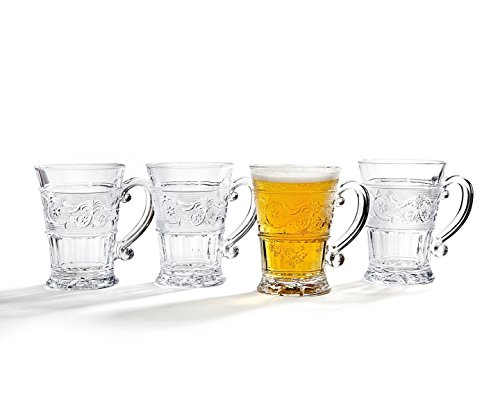 Renaissance 12 oz. Mug (Set of 4) (Mug Wine Mulled Sets Glass)