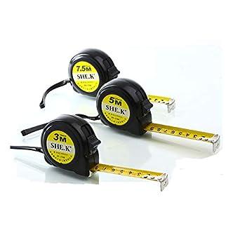 3M //5M //7.5M Retractable Metric// Feet// Inch * Measuring Tape Measure Tool
