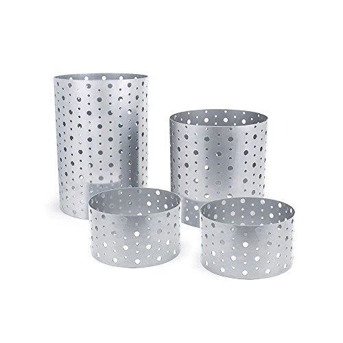 Stainless Steel Riser Set - Front Of The House BRI004BCI20 Stainless Steel Dots Risers - Set