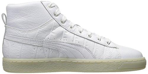 new arrivals 16047 00165 Ali Cestino M Donna Da 11 Mid Us Sneaker puma White Silver Wn s Fashion  Puma pr1Trx