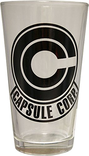 Dragon Ball Z Capsule Corp Pint Glass