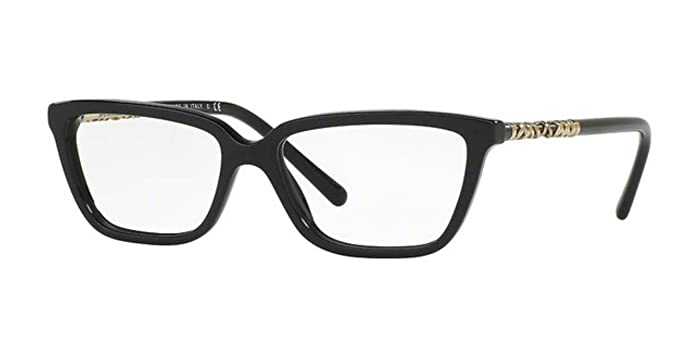 85f0fe3eb91c Burberry Women s BE2246 Eyeglasses Black 53mm at Amazon Men s ...