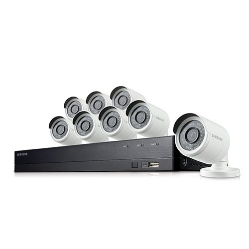 SDH-B74081 - Samsung 8 Channel 1080p HD 2TB Security Camera System with 8 Outdoor BNC Bullet Cameras (SDC-9443BC)