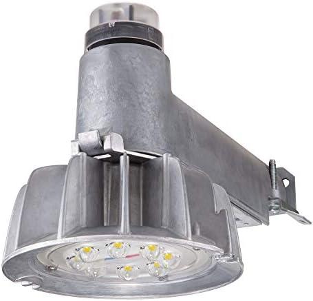 Lumark CTKRV1B Caretaker Dusk to Dawn, 4000K, 4500 Lumens LED Area Light, Aluminum