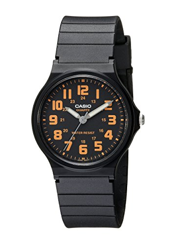 Casio Unisex MQ-71-4BCF Classic Luminous Hands Watch With Black Resin Band