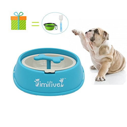 8 inch dog bowl set - 6