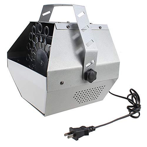 Tenozek 30W Automatic Mini Bubble Maker Machine Auto Blower for Wedding/Bar/Party/ Stage Show Silver by Tenozek (Image #1)