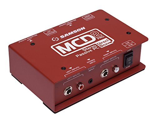 (Samson MCD2 Pro Stereo Passive PC Direct Box)