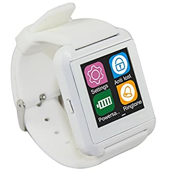 star electronic Star S5 Montre connectée smartwatch Smart Watch pour Android et iOS Blanche