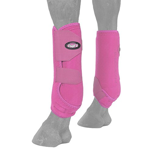 Easy Fit Splint Boots - Tough 1 Vented Sport Boots Front Small Pink