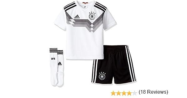 adidas DFB Heim Minikit WM 2018 Camiseta y Pantalones Cortos, Bebé ...