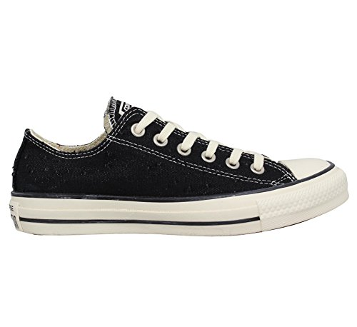 Converse Chuck Taylor All Star lienzo Shine mujer negro negro