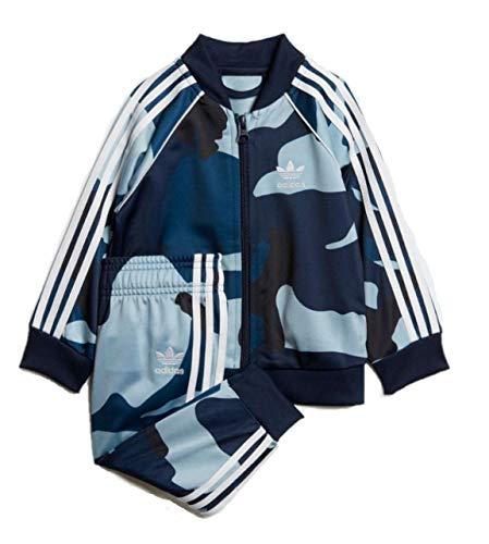 adidas Originals Baby Boys' Originals Superstar Camouflage Tracksuit (Multicolor/White, 9 M)