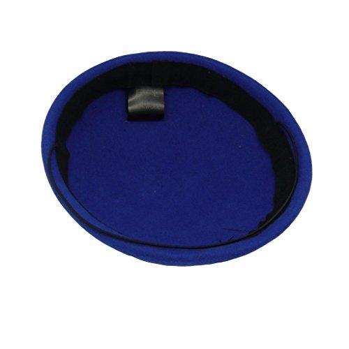 Feltro Modisteria Pillbox Pianura Da Annata Di Lana Hatsanity Donna Blu Hat BxtAqS40w