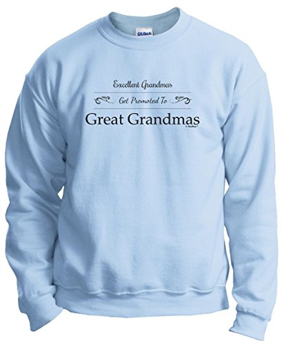ThisWear Gift Great Grandma Gift Grandma Gift Grandma Gifts Excellent Grandmas Get Promoted to Great Grandmas Crew