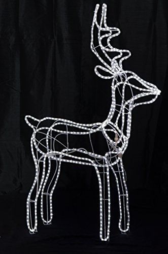 Outdoor Rope Light Reindeer in US - 4