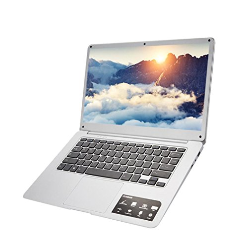2018 ZLOSKW Newest 14'' Flagship Laptop Notebook, Intel Atom X5-Z8350 1.44GHz, 4GB RAM, 64G Hard Disk, USB 2.0, 4500 mAh Li-Battery, Windows 10 by ZLOSKW