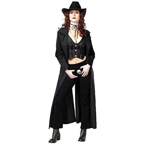 [Sexy Adult Gunslinger Costume (Size:X-small 2-4)] (Woman Gunslinger Costume)