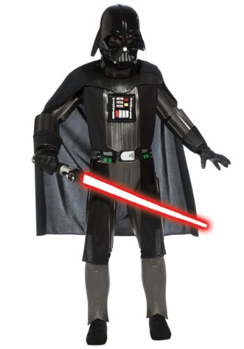 Scary Darth Vader Kids Costumes (Star Wars, Darth Vader, Deluxe Child Costume - Medium)