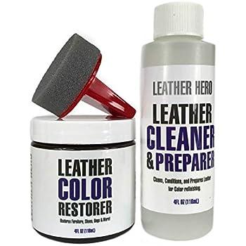 Amazon Com Leather Hero Leather Color Restorer Repair Kit