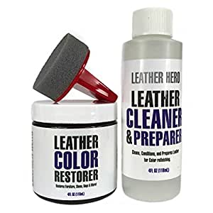 Amazon Com Leather Hero Leather Color Restorer Repair Kit