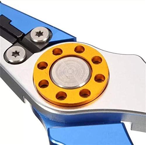 プライヤーツールハンドツール7.9インチフィッシュプライヤータックルツールフックリムーバーフィッシングプライヤーラインツールアルミニウム