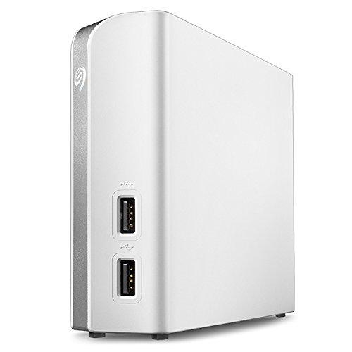 Seagate Backup Plus Hub for Mac 8TB External Hard Drive Desktop HDD - USB 3.0, 2 USB Ports, for Computer Desktop Workstation PC Laptop Mac, 2 Months Adobe CC Photography (STEM8000400)