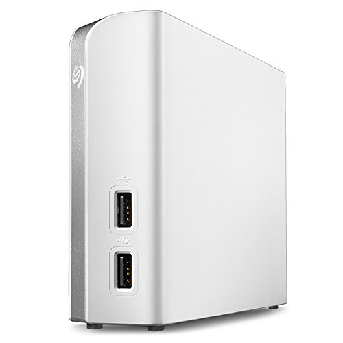 Seagate Backup Plus Hub for Mac 8TB External USB 3.0 Portable Hard Drive White STEM8000400