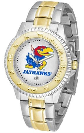 Kansas Jayhawks Watch - Kansas Jayhawks Competitor Two-Tone Men's Watch