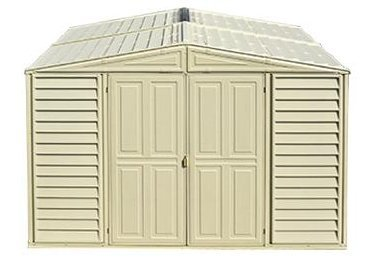 Duramax Woodbridge 10.5 x 5 Shed with Foundation Kit by Duramax