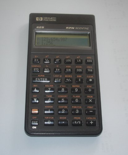- HP 42S RPN Scientific Calculator