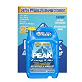 Peak Antifreeze + Coolant 50/50 Long Life 1 Gallon 2 Pack