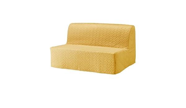Amazon.com: Ikea Sleeper sofa, Vallarum yellow 4204.142929 ...