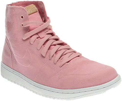 Nike Men's Air Jordan 1 Retro High Decon, Sheen/Vachetta Tan/White, 13 D(M) US -