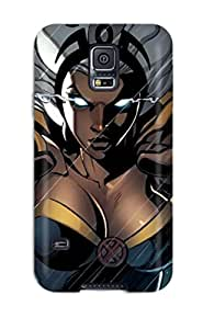 For Gwenda Cromer Galaxy Protective Case, High Quality For Galaxy S5 X Men Storm Skin Case Cover
