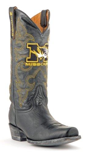 Botas Estilo Ncaa Missouri Tigers Para Hombre Board Room Style Negro