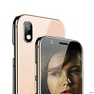 """Mini Smartphone iLight X, World's Smallest XS Android Mobile Phone 4G LTE, Super Small Tiny Micro HD 3"""" Touch Screen. Global Unlocked Great for Kids. 2GB RAM / 16GB ROM. Tiny iPhone X Look Alike"""