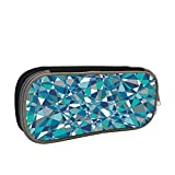 Blue Lens Large Capacity Multi-Layer Pencil Case Back To School Choice Black